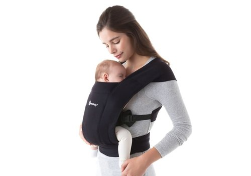 Ergobaby Baby carrier Embrace Pure Black