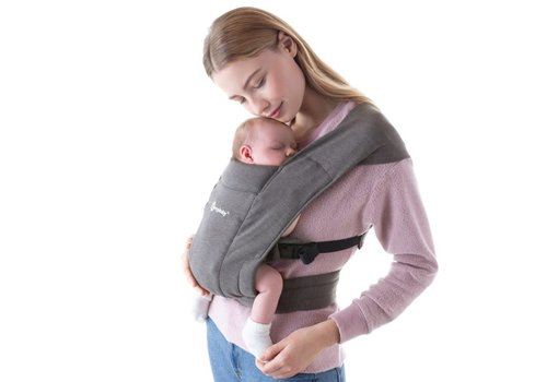 Ergobaby Baby carrier Embrace Heather Grey