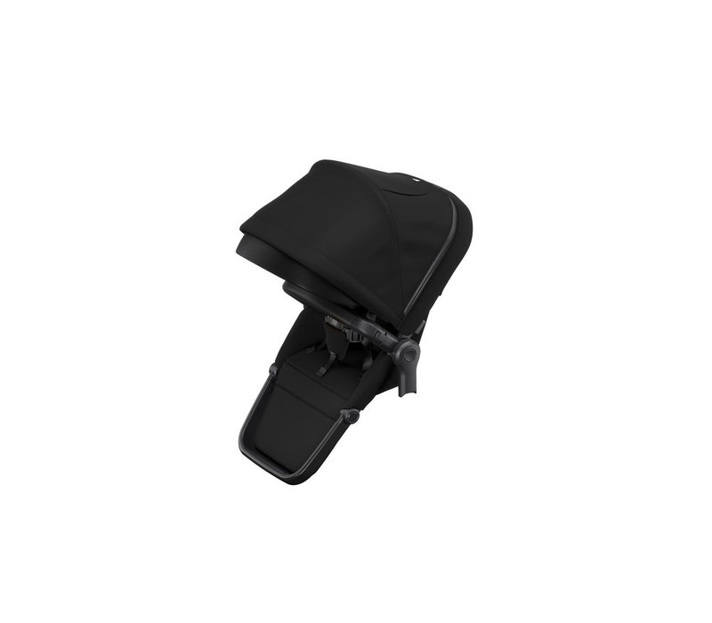 Sleek Sibling Seat Black on Black