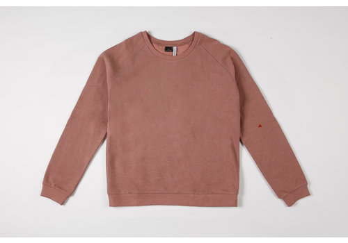 mundo melocotón Sweater Mom organic sweater blush