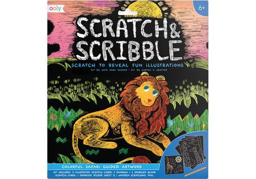 Ooly Krasboek ''Colorful Safari''
