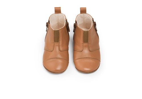 Dusq First Steps Shoe Leather Sunset Cognac
