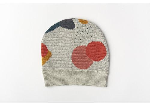 mundo melocotón Muts organic knitwear jacquard multicolor
