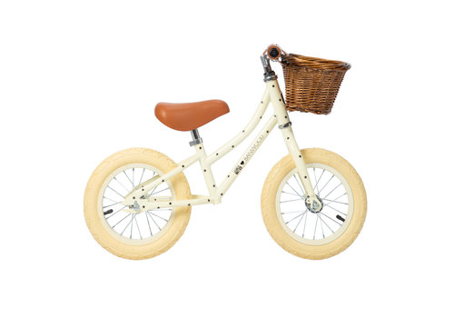 Banwood Loopfiets BONTON x BANWOOD FIRST GO! Cream