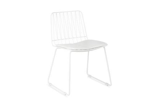 KidsDepot Hippy stool set of 2 white