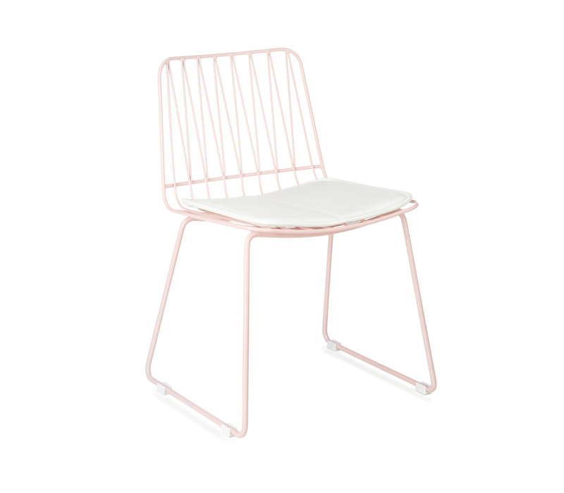 Hippy stool set of 2 pink