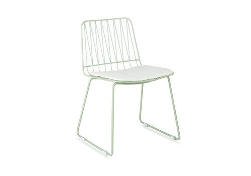 KidsDepot Hippy stoel set van 2 seagreen