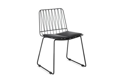 KidsDepot Hippy stoel set van 2 black