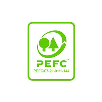 Label voor producten respect voor duurzame bossen