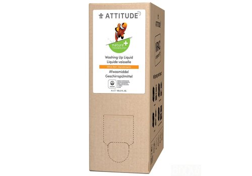 Attitude Washing up liquid Citrus zest Bulk2Go