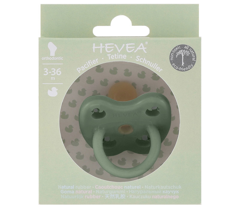orthodontic pacifier Moss green
