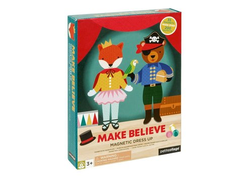 Petit Collage Magnetic Play scene - Make believe
