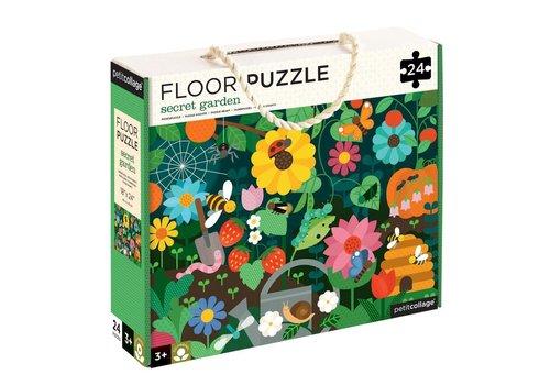 Petit Collage Floor puzzle - secret garden