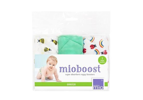 Bambino Mio MIOBOOST nappy boosters 3 pack honeybee