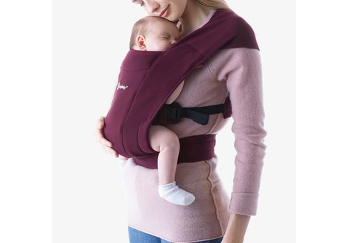 Ergobaby Baby carrier Embrace Burgundy