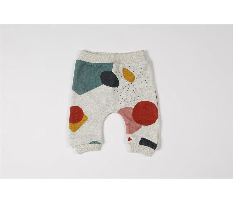 Baggy pants organic sweater multicolor