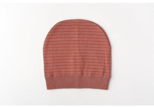 mundo melocotón Muts organic knitwear stripes La Línea blush