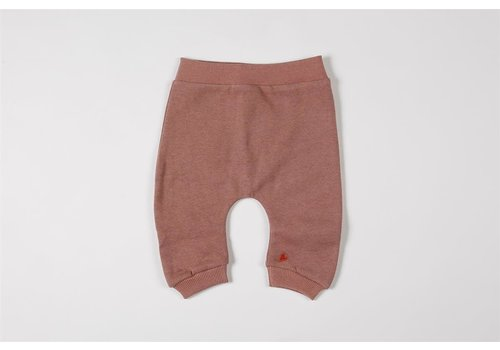 mundo melocotón Baggy pants organic sweater blush