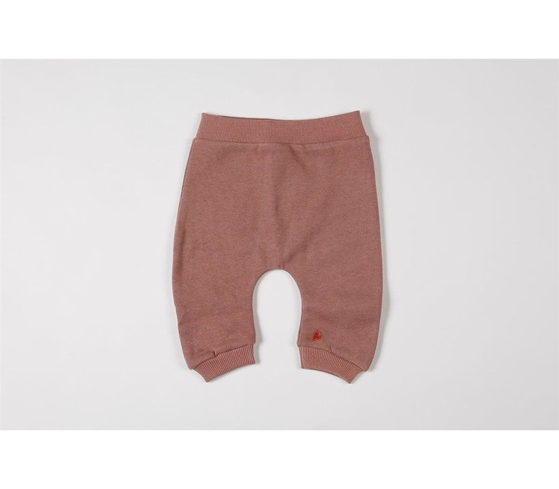 Baggy pants organic sweater blush