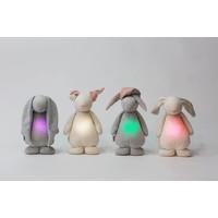 Moonie konijn met licht en geluid Cream