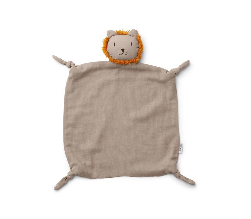 Agnete cuddle cloth Lion stone beige