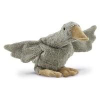 Cuddly animal Goose small grey vegan