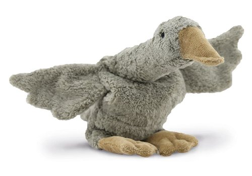 Senger Cuddly animal Goose small grey vegan
