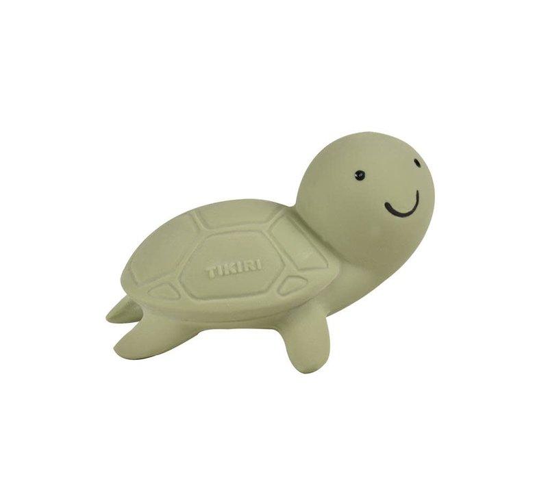 Oceaandiertje natuurrubber schildpad