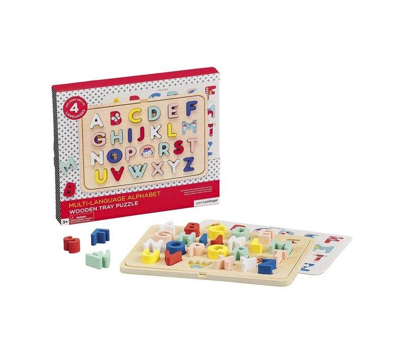 Houten puzzel ABC