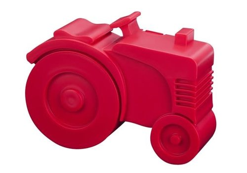 Blafre Lunch box tractor red