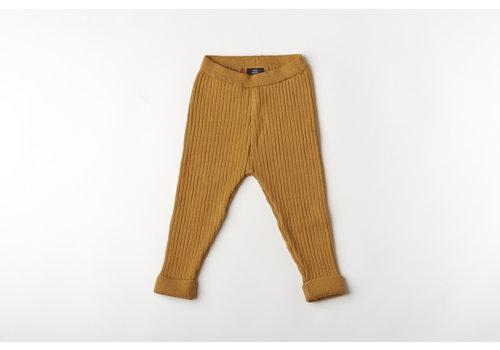 mundo melocotón Legging organic knitwear cinnamon