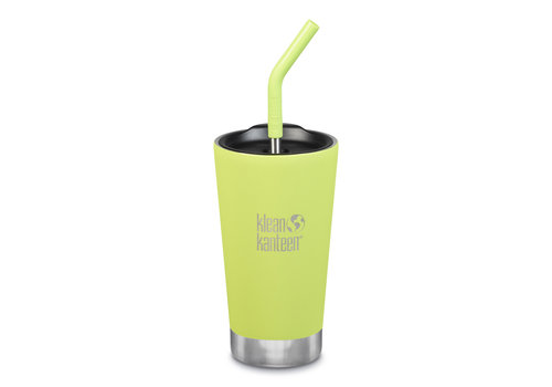 Klean Kanteen Insulated Tumbler with Straw Lid 474 ml juicy pear