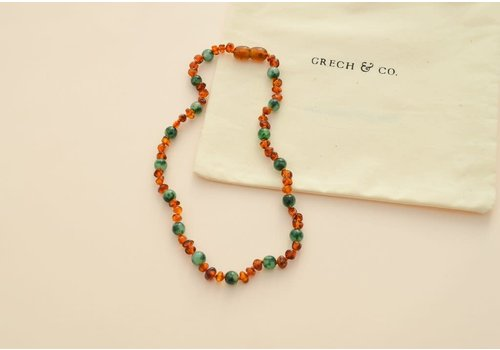 Grech & Co Children's Baltic Amber Necklace - PURIFY