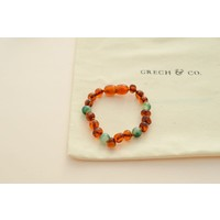 Children's Baltic Amber Bracelet/Anklet - PURIFY