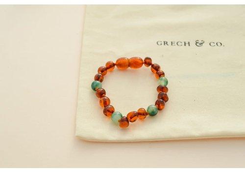 Grech & Co Children's Baltic Amber Bracelet/Anklet - PURIFY