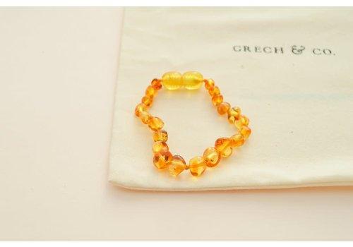Grech & Co Children's Baltic Amber Bracelet/Anklet - ENLIGHTEN