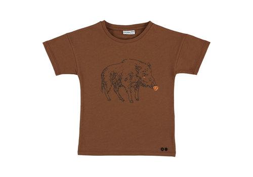 Trixie Baby T-shirt short Truffle Pig