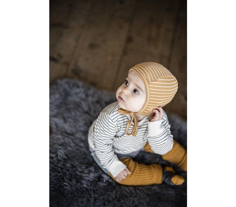 Legging organic knitwear cinnamon