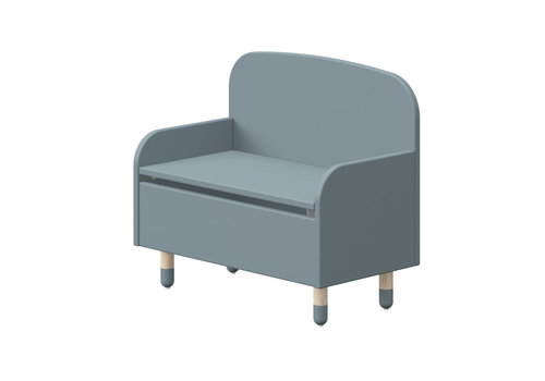 Flexa Play storage bench Light blue