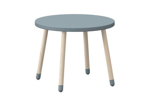Flexa PLAY  Children's table round Light blue
