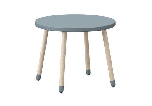 Flexa PLAY Kindertafel rond Light blue