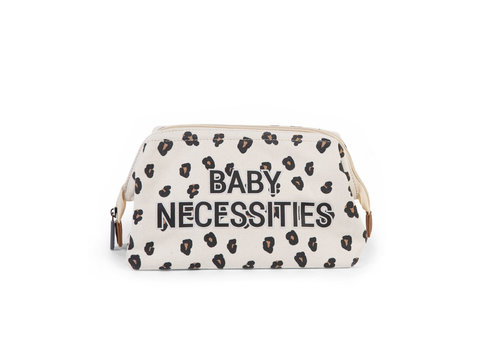 Childhome Baby necessities canvas leopard