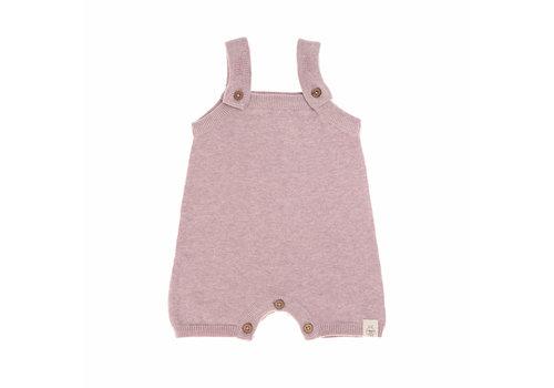 Lässig Knitted Jumpsuit pink
