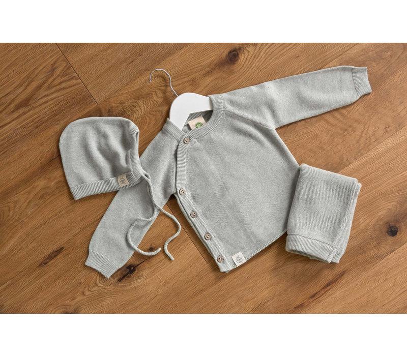 Knitted Kimono grey