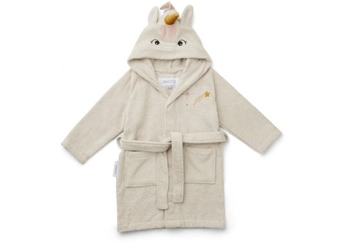 Liewood Lily bathrobe Unicorn sandy