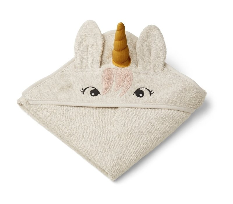 Handdoek Albert 70x70  Unicorn sandy