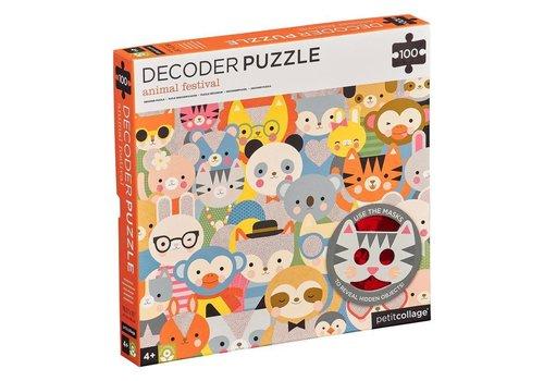 Petit Collage Puzzle - Animal festival