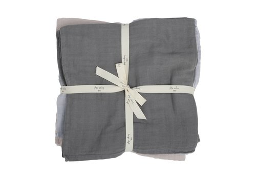 Konges Sløjd Muslin cloths 10 pack boy