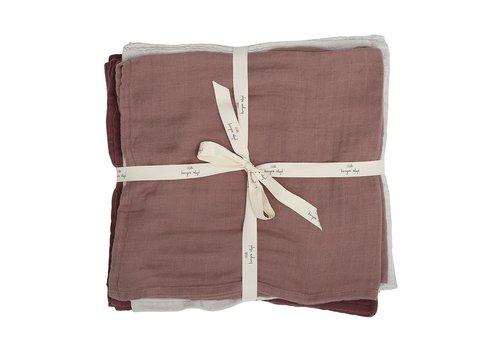 Konges Sløjd Muslin cloths 10 pack girl