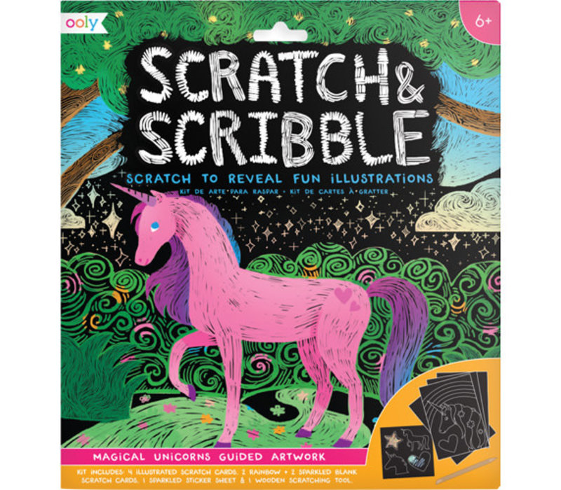 Scratch & Scribble ''Magical Unicorns''